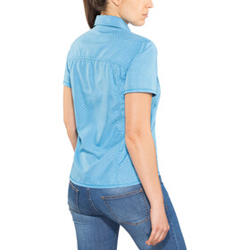 Meru Melissia Blusa SS funcional Mujer, ethereal blue